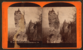 Chimney Rocks, over-looking Hollidaysburg, Pa, by R. A. Bonine.png