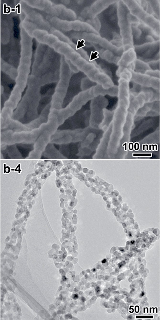 Chiral TiO2 nanofibers 2