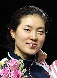 Choi Eun-sook South Korean Olympic fencer
