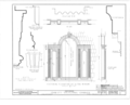 Christ Episcopal Church, Broad Street and Sycamore Avenue, Shrewsbury, Monmouth County, NJ HABS NJ,13-SHREW,1- (sheet 10 of 19).png