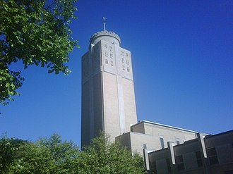 Roman Catholic Diocese of Davenport - Christ the King Chapel at St. Ambrose.
