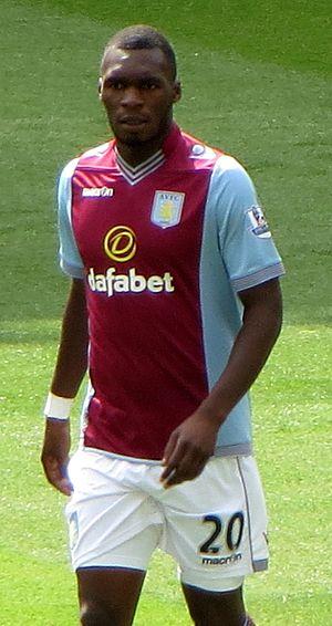Christian Benteke - Benteke playing for Aston Villa in 2013