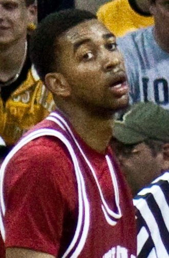 Christian Watford - Watford with Indiana in 2010.