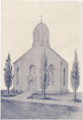 """Church, Page 350 (Sketch of the """"Old Round Church"""" 1895).png"""