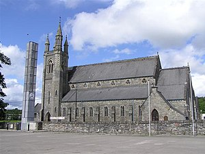Stranorlar - Stranorlar's Roman Catholic church