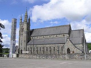 Stranorlar Town in Ulster, Ireland