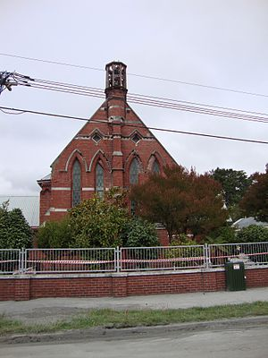 Church of the Good Shepherd, Christchurch - Image: Church of the Good Shepherd (west)