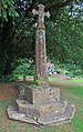 Churchyard Cross, Church of St Peter And St Paul, Combe Florey.jpg