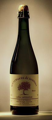 artisanal cider from brittany
