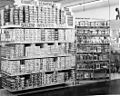 Cigarette and cigar displays (Camel, L&M, etc - ) at Clark's, a grocery, drug, sundries, and department store and lunch counter, 3900 North Independence Boulevard, Charlotte, NC, c.1962 or 1963. (6876071035).jpg