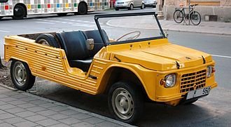 Buggy (automobile) - Citroën Méhari, a French buggy