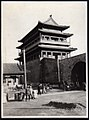 City Walls, Gate and Watchtower, probably in Manchuria (1910s by Elstner Hilton).jpg