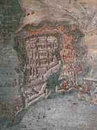 City of La Rochelle and fortifications during the siege anonymous 17th century