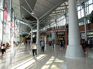 Citygate - Shopping arcade bridge