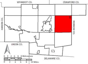 Claridon Township, Marion County, Ohio - Image: Claridon Marion