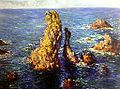 "Claude Monet ""Las Pirámides a Port-Coton"" (1886) Óleo sobre tela; 65,5 x 81,5 cm.jpg"
