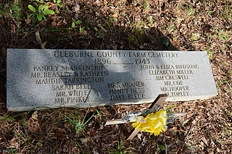 National Register of Historic Places listings in Cleburne County, Arkansas - Image: Cleburne County Farm Cemetery