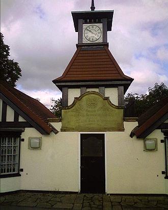 Normanton, Derby - Clock tower in Normanton Park