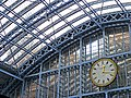 Clock and Roof, St Pancras, London - geograph.org.uk - 1164401.jpg