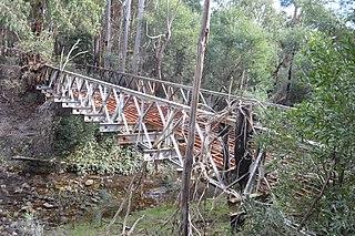 Clonbinane Town in Victoria, Australia