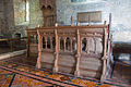 Clonfert Cathedral Choir Stalls South 2009 09 17.jpg