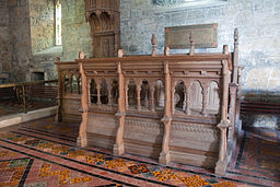 Clonfert Cathedral Choir Stalls South 2009 09 17