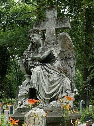 Rakowicki Cemetery - Image: Cmentarz Rakowicki 2