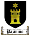 Coat of Arms of Pazmiño family.png