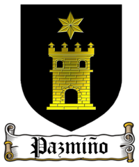 Coat of arms of Pazmiño family