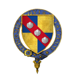 Battle of Patay - Image: Coat of Arms of Sir John Fastolf, KG