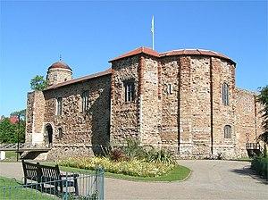 Colchester Castle - Colchester Castle, front and SE corner