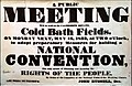 Cold Bath Fields Public Meeting 1833-05-13 National Union of the Working Classes, Poster.jpg
