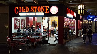 Cold Stone Creamery - Cold Stone Creamery at Serendra Plaza in Taguig, Philippines.