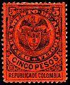 Colombia Antioquia 1890 Sc83.jpg