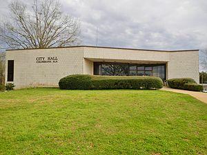Columbiana, Alabama - Image: Columbiana, Alabama City Hall