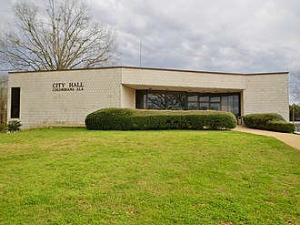 Columbiana, Alabama - Image: Columbiana, Alabama City Hall