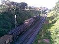 Comboio parado no pátio da Estação Ferroviária de Itu - Variante Boa Vista-Guaianã km 201 - panoramio.jpg