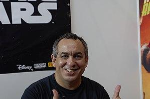 Eddy Barrows - Barrows at the Comic Con in Stuttgart, July 2, 2017.