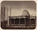 Communal Prayer at the Annual Festival and Officials of the Mosque. Communal Prayer at Kurban Bayram in Tashkent WDL10807.png