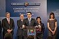 Comparecencia del Gobierno Vasco tras celebrar su Consejo de Gobierno en el Palacio Artaza de Lejona-Leioa (4 de mayo de 2010) - 2.jpg