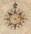 Compass rose from Pedro Reinel (1504) chart.jpg