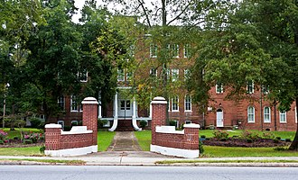 National Register of Historic Places listings in Cabarrus County, North Carolina - Image: Concord NC Barber Scotia College 0574