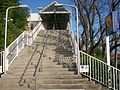 Concord West railway station entrance stairs.JPG