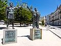 Conjunto Histórico de la Ciudad de Lugo, Monumento a los Fundadores de Lugo.jpg