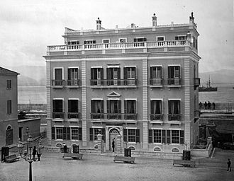 Gibraltar City Hall - Connaught House in 1879
