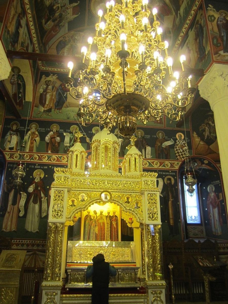 Constantin Brancoveanu mormant - Biserica Sf. Gheorghe Nou Bucuresti