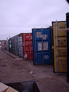 shipping container owner code, defined by the Bureau International des Containers
