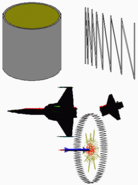 Continuous-rod-warhead