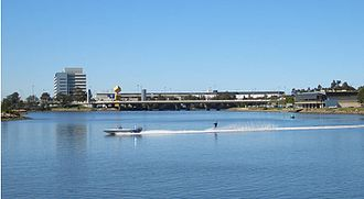 Cooks River - Cooks River, near Sydney Airport