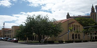"K–8 school - The ""lower academy"" (elementary school) of the Coral Gables Preparatory Academy in Coral Gables, Florida"